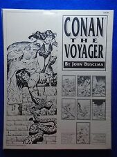 ~~ CONAN THE VOYAGER PORTFOLIO BY JOHN BUSCEMA ~ SQP 1992 ~ HARD TO FIND! ~~