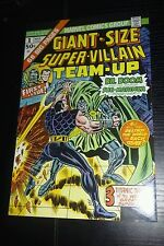 GIANT-SIZE SUPER-VILLAIN TEAM-UP # 1,  8.0//VF PLUS
