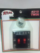 Atlas Twin Switches Controls Reversing Loops or Double Tracks Model Railroad 210