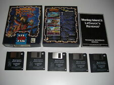 "LeChuck's Revenge MONKEY ISLAND 2 IBM Pc 3.5"" Floppy Disk - KIXX BIG BOX"