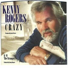 KENNY ROGERS - Crazy  (picture sleeve only) - NM