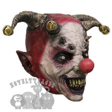 "POPULAR Halloween 'Male Jester Maschera Clown Horror Spaventoso ""Il male in lattice PARTY MASCHERA"