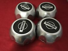 "USED 4pcs Center Hub Cap 16"" Wheels 00-04 Nissan Xterra Frontier  SCRATCHES!!!"