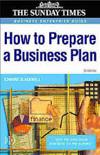 How to Prepare a Business Plan (Business Enterprise),GOOD Book