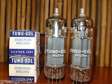 Pair of Tung Sol 27GB5 PL500 Vacuum Tubes