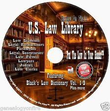 US LEGAL LIBRARY | FEATURING BLACK'S LAW DICTIONARY EDITIONS 1-9 + SO MUCH MORE