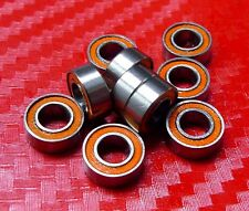 [QTY 2] S623-2RS (3x10x4 mm) CERAMIC 440c Stainless Steel Ball Bearing 623RS