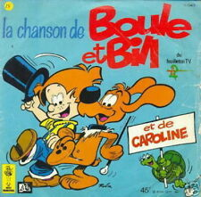 BD 45 TOURS FRANCE LA CHANSON DE BOULE ET BILL (ROBA)