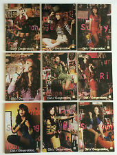 *RARE* SNSD Girls Generation Star Card GG2.037-GG2.045 FULL CHECKERED HOLO SET