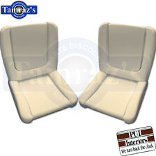 62-63 Ford Galaxie Front Bucket Seat Foam Buns PAIR  New
