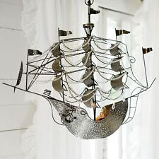 NEW Pottery Barn Teen Junk Gypsy Dreamer Pirate Ship Chandelier - RETAIL $229!!