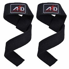 Power Hand Bar Straps Weight Lifting Cotton Straps Strenthen Training Workouts