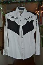 Vintage Western Long Sleeve Shirt Wrangler Silver Lake country Size Small