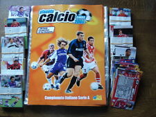 PANINI LIKE COMPLETE BINDER + ALL 296 CARDS CALCIO 2000