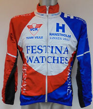Festina Watches Team Vejle cyclisme veste cycle shirt jersey small