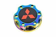 NEOCHROME BILLET RACING ENGINE OIL FILL CAP FOR 08-15 MITSUBISHI LANCER EVO X RD