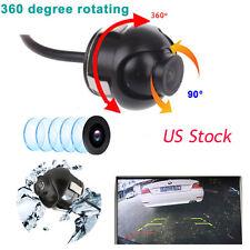 CCD/HD Night vision 360 degree car rear view backup camera Parking  Waterproof