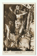 Davaar Island Crucifixion Campbeltown Argyll Real Photograph Lilywhite Old PC