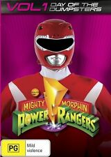 Mighty Morphin Power Rangers: Day of the Dumpsters - Vol 1 DVD NEW