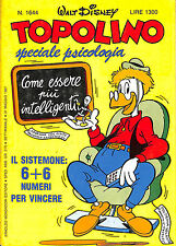 [552] TOPOLINO ed. Mondadori 1987 n.  1644 stato Ottimo