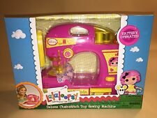 Lalaloopsy Deluxe Chainstitch Toy Sewing Machine New Priority Shipping