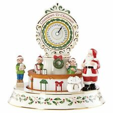 Lenox Coundown Till Christmas Centerpiece Animated & Musical New 2016 863639