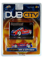 2003 Jada Dub City #046 Toyota MR-2 Spyder Import Racer!