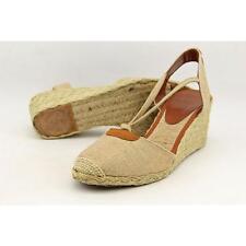Lauren Ralph Lauren Cala Women US 7 Gold Wedge Heel Pre Owned  1913