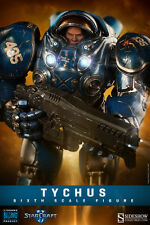Starcraft 12' Tychus Terram Space Marine 1/6 Scale Action Figure SIDESHOW TOYS