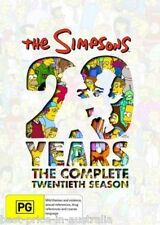 The SIMPSONS: The COMPLETE Season 20 DVD TV SERIES BRAND NEW 4-DISCS BOX SET R4