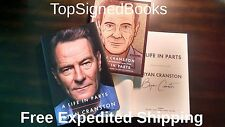 SIGNED A Life in Parts by Bryan Cranston, Breaking Bad TV show, new autographed