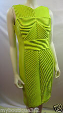 CALVIN KLEIN CITRON DRESS SIZE 8  CD5P1E9F NEW WITH TAG