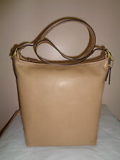 Coach Duffle Bag Legacy Leather Hobo In Tan
