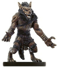D&D MINIATURES GNOLL CLAW FIGHTER 53/60 C NIGHT BELOW