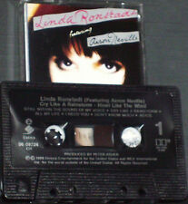 Linda Ronstadt feat Aaron Neville Cry Like A Rainstorm, Howl.. CASSETTE CANADIAN