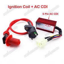 Scooter Racing Ignition Coil AC CDI Box GY6 50cc 125cc 150cc ATV Go Kart Moped