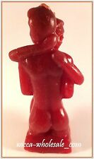 5 1/2 INCH RED IMAGE EROTIC COUPLE / HUGGING LOVERS CANDLE SPELL FIGURINE LOVE