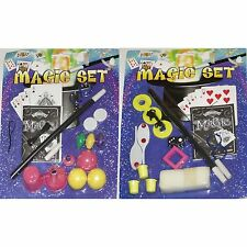 Set of 6 Magic Trick Sets - Ideal Magician Kits for Party Bags