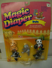 #7463** NRFC Vintage Galoob Magic Diaper Babies Pets