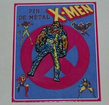 X-MEN AVALANCHE METAL PIN FIGURE COLLECTIBLE MARVEL COMIC TOY ARGENTINA