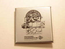 Square 1998 Street Rod Nationals pin; Engineered Components, Inc. sponsor