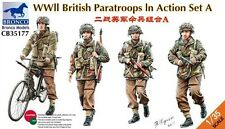 Bronco 1/35 WWII British Paratroops in Action Set A # CB35177