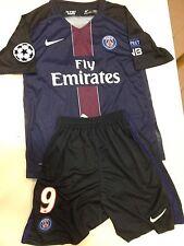 Maglia completo Paris St Germain #9 Cavani size M  Shirt Camiseta