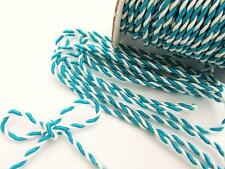 10 yards Nylon Twine Cord 2mm/Braid/Trim/String/Craft/Sewing T116-Turquoise Blue