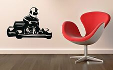 Wall Sticker Vinyl Decal ​​Karting Racing Sports Speed Kart (ig1179)