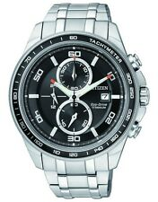 Citizen Eco-Drive Mens Super Titanium Classic Chronograph.  CA0341-52E