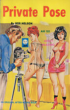 Vintage Sleaze PB Paperback - Private Pose - Bill Alexander After Hours 1967