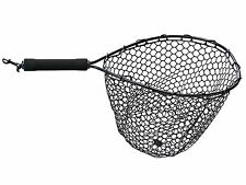 "FISHING LANDING NET WITH RUBBER MESH NET (Hoop 15""x12""; Total 22"") - FIVE OCEANS"