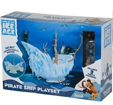 Ice Age 4 Continental Drift Pirate Ship Playset including 3 Mini Figures by TPF