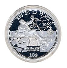 Cook INSELN - 10 Dollar 2011 - Rio de PLATA - SILBER - ANSCHAUEN (10763/252N)